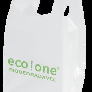 sacola camiseta biodegradável