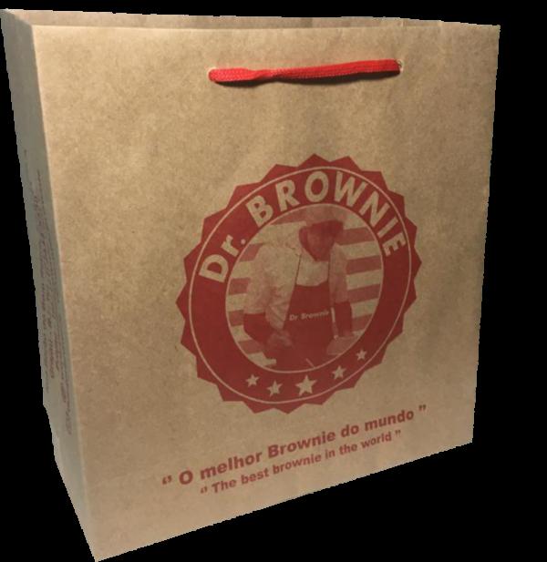 Sacola de papel Dr. Brownie