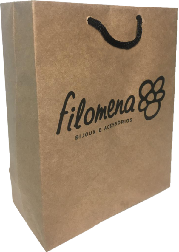 Sacola de papel Filomena